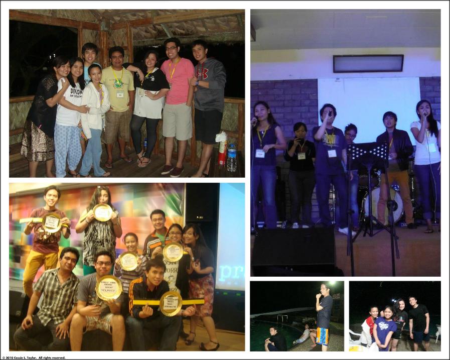 2012 Worship Team Retreat Collage