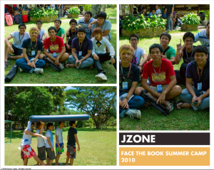 JZONE Face the Book Collage