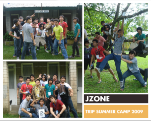 JZONE Trip Camp Collage