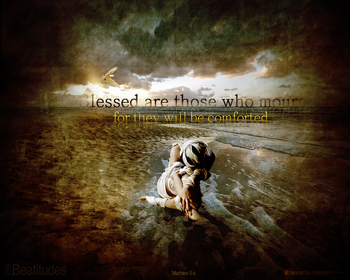 an analysis of mourning in the beatitudes in matthews of the bible Faith church is a family of followers of jesus christ who desire to honor god by applying his sufficient word to all areas of life and ministry.