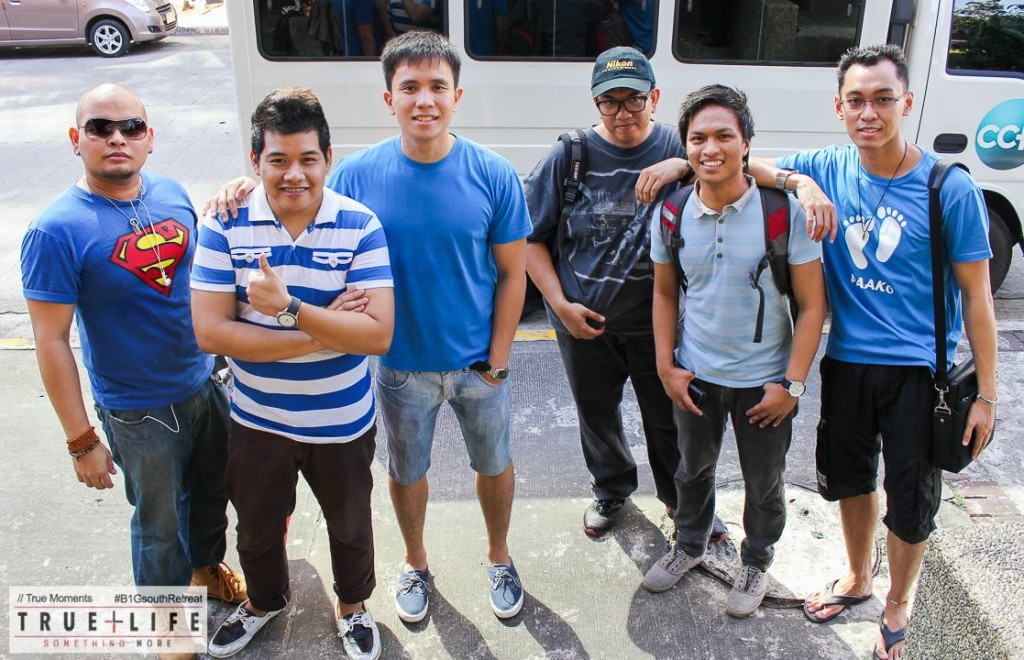 Marc Sorongon with Advance Party for True Life Retreat