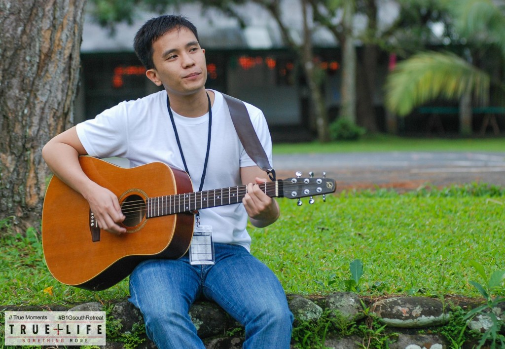 Marc Sorongon Playing Guitar