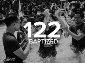 122 Baptized