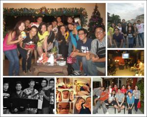 B1G South Worship Team 2012 Pic Collage