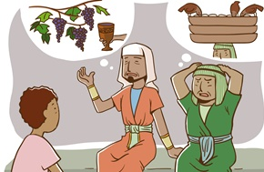 Joseph with Cupbearer and Baker